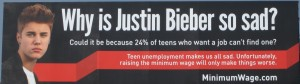 BIeber Minimum Wage
